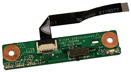 HP Pavilion DV9000 WiFi Wireless Switch Board W/Cable DAAT9TH18D2 37AT9WB0006