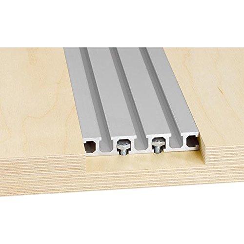 Woodpeckers Precision Woodworking Tools SPT-48 Super Track, 48-Inch - Super Track
