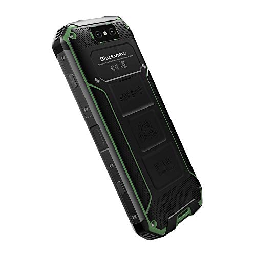 Matoen BLACKVIEW BV9500 Three Anti-Smart Phone 4GB 64GB Octa Core 5.7-inch Screen 16mp DualSim Android 8.1 Smartphone (Green) by Matoen (Image #5)