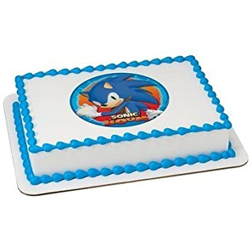 Sonic The Hedgehog Boom Licensed Edible Cake Topper 58165 By DecoPac