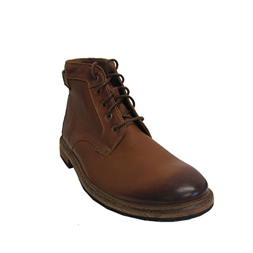 Clarks Clarkdale Bud - Dark Tan Leather (Brown) Mens Boots 11 US