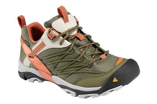 Keen Women's Marshall WP Hiking Shoe,Burnt Olive/Arabesqu...