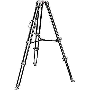 Manfrotto MVT502AM Video Tripod with Telescopic Twin Legs (Black)