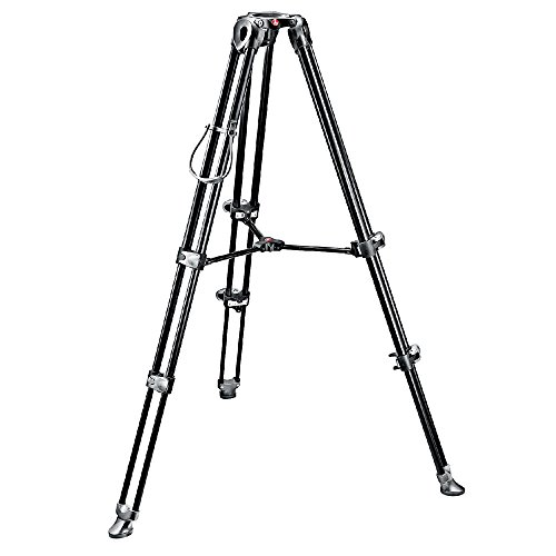 Manfrotto MVT502AM Video Tripod with Telescopic Twin Legs - Video Monitor Manfrotto