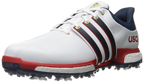 Adidas Golf Men's Tour360 Boost Spiked Shoe - Fatwa White...