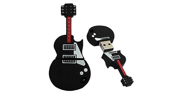 tonsee Mode U Disk Pendrive dibujos animados musicales guitarra ...