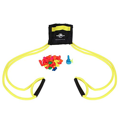 (Water Sports Deluxe 3-Person Water Balloon Launcher Kit (Color May Vary))