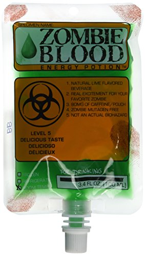Harcos Lime Zombie Blood Energy Potion 3.4 (Pure Energy Halloween)
