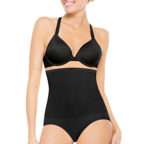 Assets Red Hot by Spanx High Waisted Shaper With Panty (1841) 3/Black (Red Hot Label By Spanx High Waisted Leggings)