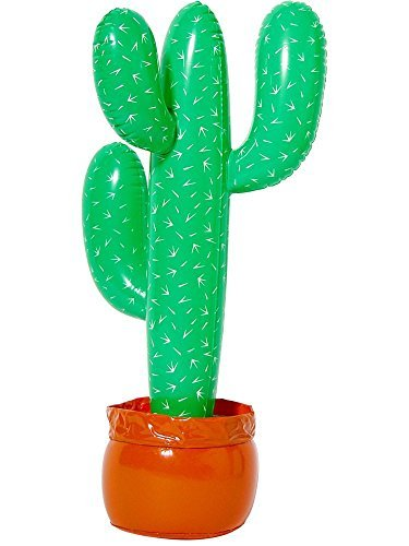 Blow Up Cactus (Inflatable Cactus with Potted Base,37-Inch)