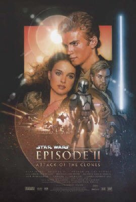 Star Wars: Episode II - Attack Of The Clones - Movie Poster: Regular (Size: 27'' x 40'')