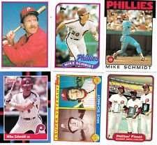 20 Assorted Mike Schmidt Collectible Baseball Cards