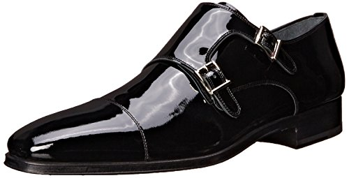 Magnanni Mens Drigo Smoking Oxford Svart Patent