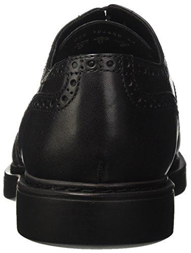 Docksteps Herren Business Light Low 1514 Brogue-Schuhe Nero (Black)