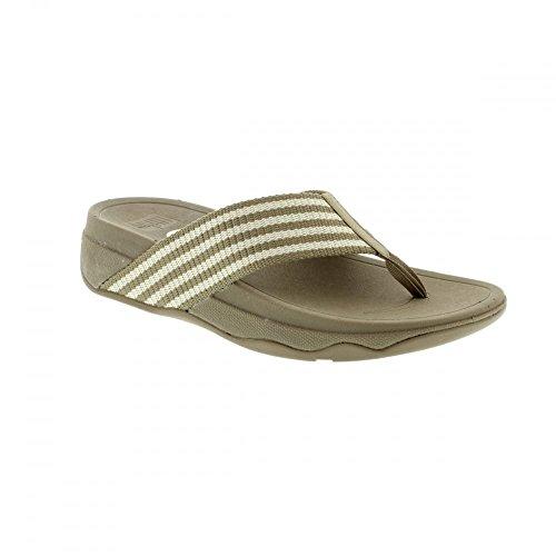 Piedra/lluvioso Día De Fitflop Supe Sandalias gris