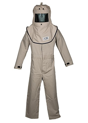 - CAT4 Series Arc Flash Hood & Coverall Suit Set