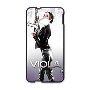 HTC One M7 phone case Black viola saints row the third THJ6967129