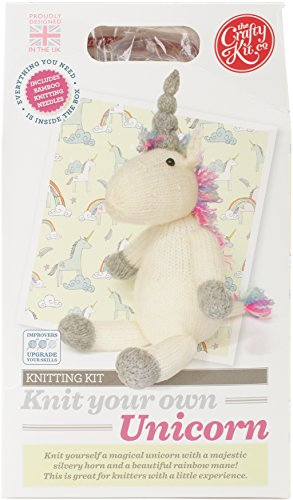 Knit Your Own Unicorn Kit by The Crafty Kit Company
