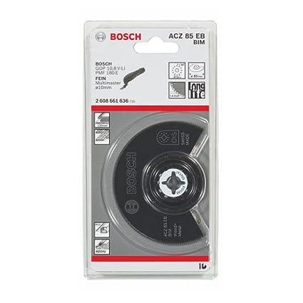 BOSCH 2608661636 - Accesorio para multiherramienta ACZ 85 EB: madera y metal