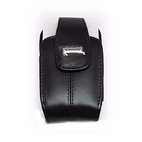 (BlackBerry Leather Holster for 8300, 8310, 8320, and 8330 Curve  (Black))