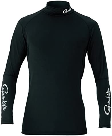 [해외]또한 고 (Gamakatsu) 2WAY 스트레치 언더 셔츠 GM3451 블랙 L. / Gamakatsu 2WAY Stretch Undershirt GM3451 Black L.