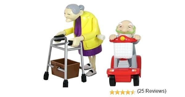 Bluw rasende Abuelo y Abuela en Juego de 2: Amazon.es: Juguetes y juegos