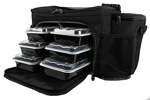 Isobag 6 Meal Reverse Red/Black by Isolator Fitness (Image #5)