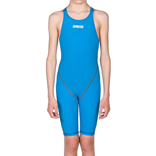 Arena Powerskin ST 2.0 Girl's Open Back Youth Racing Swimsuit, Royal, 24 ()