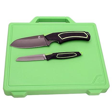 GERBER G1041 Cuchillo Tascabile,Unisex - Adultos, Verde, un ...