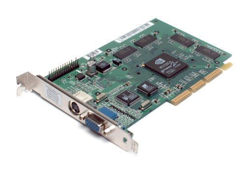 Genuine Dell nVidia GeForce 2MX 32MB Max Resolution: 1920X 1200 76Hz AGP Video Graphics Card with VGA TV and S-Video Dell Part Numbers : 7D208 (Agp 32 Mb Card)