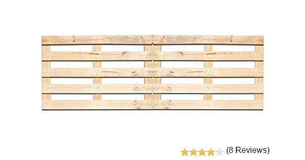 2 X Palet 120x80x3 cm para cabecero de cama grande XL (Madera)