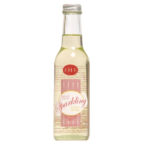 FarmHouse Fresh Red Hot Shandy Sparkling Bath Soak 7.3 fl oz. (Farmhouse Fresh Bath Soak)