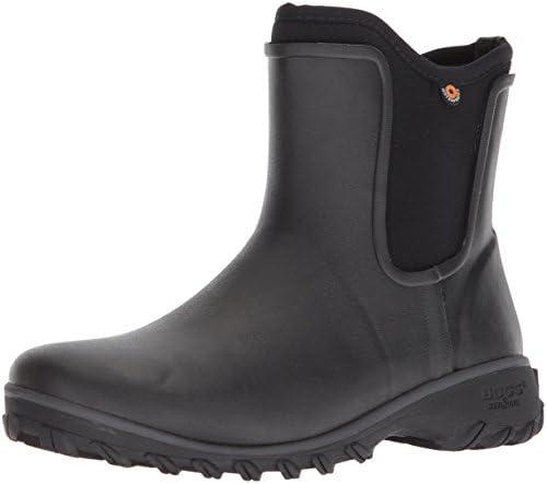Bogs Sauvie Chelsea Womens Waterproof Short Garden Boots In Black UK Sizes 3-7