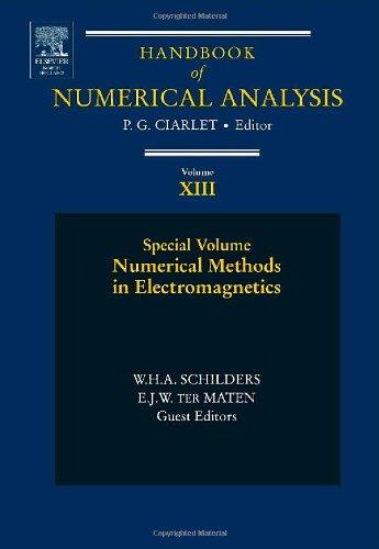 Numerical Methods in Electromagnetics, Volume 13: Special Volume (Handbook of Numerical Analysis)
