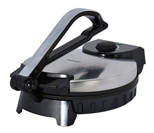 Brentwood TS-128 Electric Tortilla Press Silver