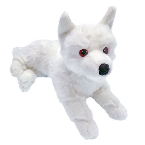 Factory Entertainment Game of Thrones Ghost Direwolf Prone Cub Large Plush ()