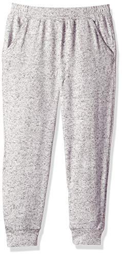 Gymboree Girls' Big Knit Jogger, Heathered Slate Cozy M ()