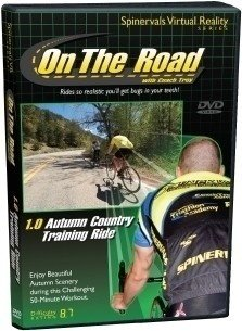 Spinervals Virtual Reality 1.0 Autumn Country Training Ride DVD from Spinervals