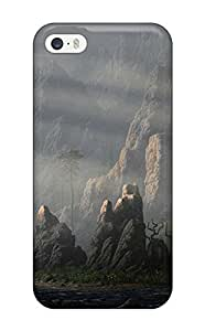 Premium Tpu The Landscape Cover Skin For Iphone 5/5s