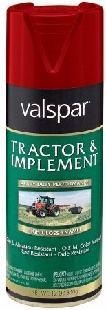 Tractor and Implement Enamel Spray Paint [Set of 6] Color: International Harvester - Implement Spray Enamel