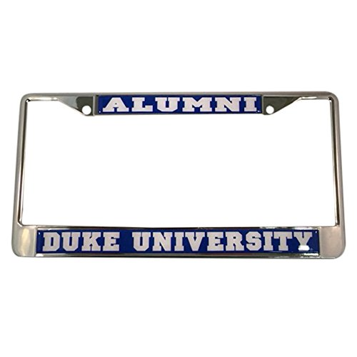 Riverside Metal (Duke University License Plate Frame/Tag For Front Back of Car Officially Licensed (Alumni - Metal Frame))