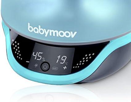 Babymoov - Hygro Plus, Humidificateur, 22h d'Autonomie, Silencieux, Diffuseur Huiles Essentielles