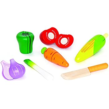 Hape Garden Vegetables Wooden Play Kitchen Food Set and Accessories
