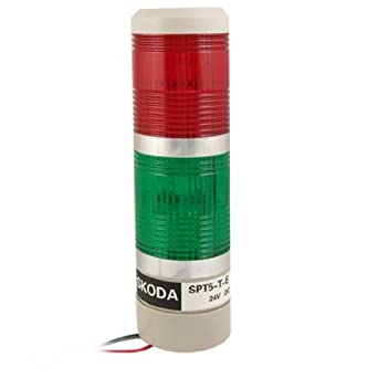 eDealMax a11080800ux0075 Seguridad Industrial Red Green LAMP ...
