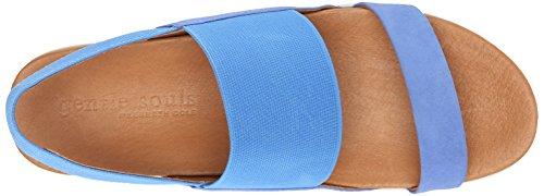 Anime Gentili Delle Donne Piattaforma Lansbury Sandalo Blu Brillante