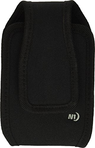 Nite Ize Fits All Phone Holster - Vertical or Horizontal Protective, Clippable Cell Phone Holder for Your Belt Or Waistband - Vertical - Extra Large - Black