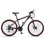 41cJcH6EcML. SS150 Dsrgwe Mountain Bike, Mountain Bike, Telaio Lega di Alluminio Hardtail, Doppio Freno a Disco e Sospensione Anteriore…