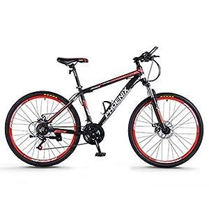 41cJcH6EcML. SS300 Dsrgwe Mountain Bike, Mountain Bike, Telaio Lega di Alluminio Hardtail, Doppio Freno a Disco e Sospensione Anteriore…