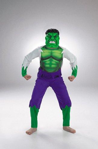 Child Hulk Costume - Medium 7-8