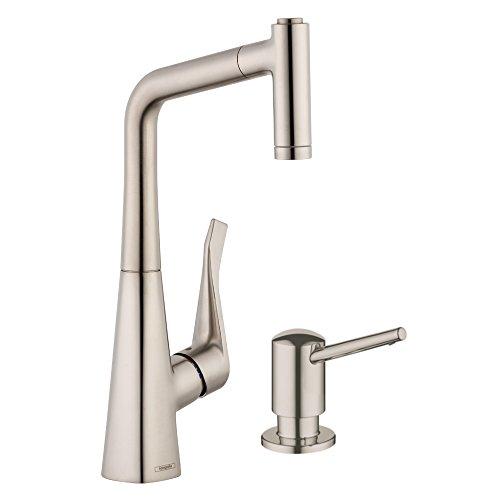 hansgrohe metris higharc kitchen faucet
